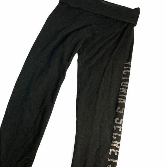 Victoria's Secret Pants - Victoria Secret Womens Black Legging Capri s